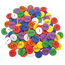 Place Value Disks Grade 1-3 Numbers