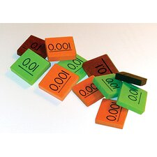 Place Value Decimal Tiles Learning Tool