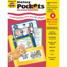 History Pockets Colonial America Book