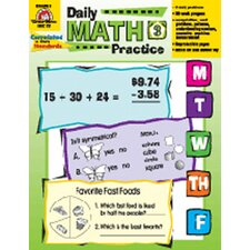 Daily Math Practice Grade 3 Book