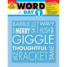 A Word A Day Grade 1 Book