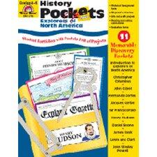 History Pockets Explorers of North Book
