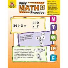 Daily Math Practice Grade 4 Book