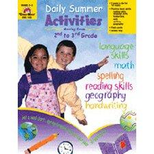 Daily Summer Activities Grade 2-3 Book