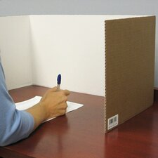 Corrugated Study Carrel (Pack of 24)