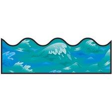 Ocean Waves Scalloped Classroom Border (Set of 3)