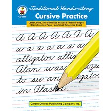 Traditional Handwriting Cursive Letters