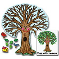 Big Tree Kid-drawn Bulletin Board Cut Out Set