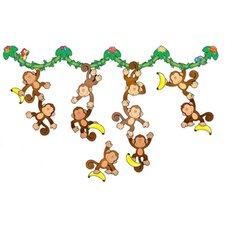 Monkey Bulletin Board Cut Out Set