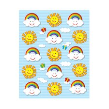 Suns and Rainbows Shape Sticker (Set of 3)