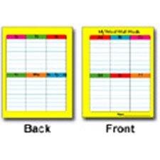 Portable Word Wall Chart