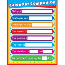 Companion Laminated Calendar (Set of 2)