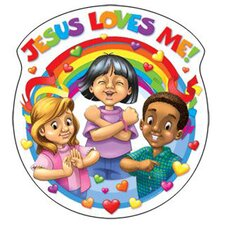 Jesus Loves Me Cut Out (Set of 3)