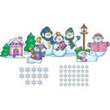 Snow Pals Bulletin Board Cut Out Set