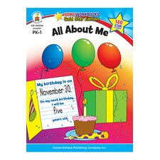 All About Me Home Book (Set of 2)