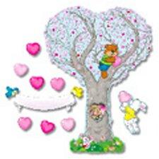 Caring Heart Tree Bulletin Board Cut Out Set