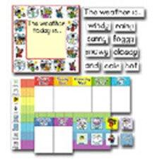 Weather Kid-drawn Chart Set