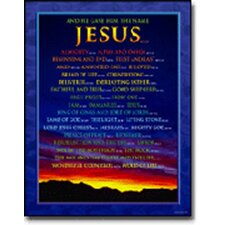 Names of Jesus Chart (Set of 3)