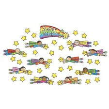 Super Kids Job Assignment Kid-drawn Bulletin Board Cut Out