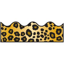 Leopard Print Scalloped Classroom Border (Set of 3)