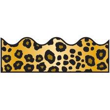 Leopard Print Scalloped Classroom Border (Set of 3)