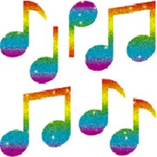 Dazzle Music Sticker (Set of 3)