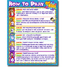 How to Pray for Kids Poster (Set of 3)
