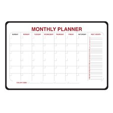 Monthly Planner Whiteboard, 2' x 3'