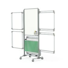 Nexus Mobile Magnetic Whiteboard, 6' x 3'