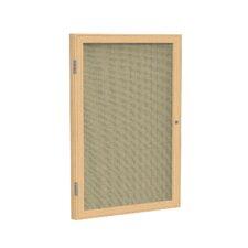 1 Door Enclosed Bulletin Board
