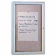 Enclosed Bulletin Board, 4' x 3'