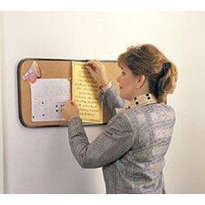 Wall Mounted Bulletin Board, 2' x 2'