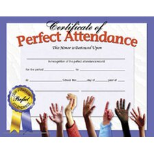 Perfect Attendance Certificate (Set of 30)