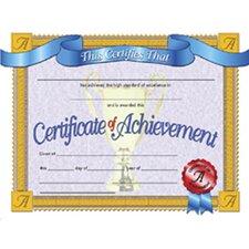 Achievement Certificate (Set of 30)