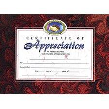 Appreciation Certificate (Set of 30)