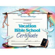 Vacation Bible School Certificate (Set of 30)