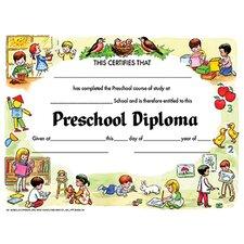 Diplomas Preschool Certificate (Set of 60)