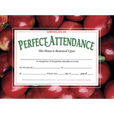 Perfect Certificate (Set of 30)