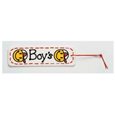Boys Smiley Face Hall Pass (Set of 2)