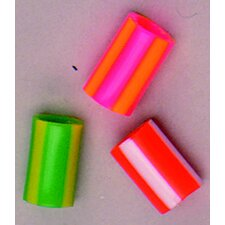 Striped Straw Beads (Set of 2)