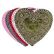 Doilies 4 Red Heart 100/pk