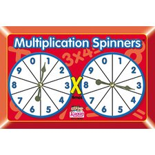 Multiplication Spinners (Set of 3)