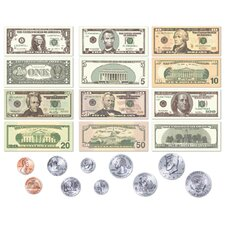 Coins Bulletin Board Cut Out Set