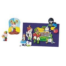4 Nursery Rhymes Bulletin Board Cut Out Set (Set of 4)