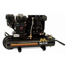 8 Gallon Single Stage Wheelbarrow Air Compressor