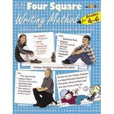 4 Square Writing Method Grade 4 - 6 Book
