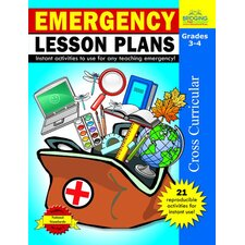 Emergency Lesson Plans Grade 3 - 4 Book