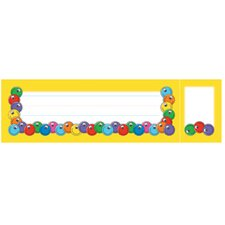 Seat and Cubby Signs Smiley Faces Name Tag (Set of 3)