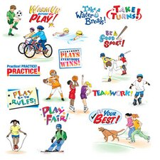 Physical Fitness Bulletin Board Cut Out Set