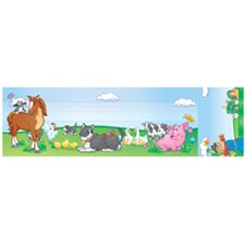 Seat and Cubby Signs Farm Animals Name Tag
